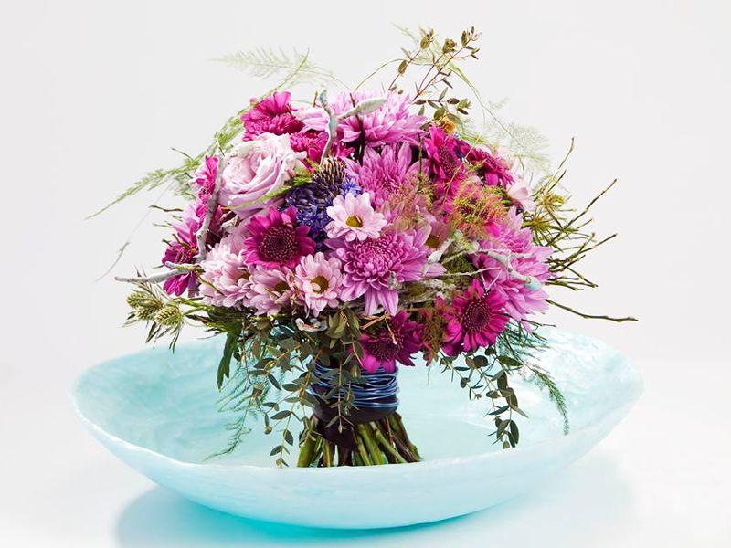 Bouquet de margaridas - Cursos de formação em arte floral